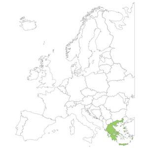 ギリシャ共和国の場所