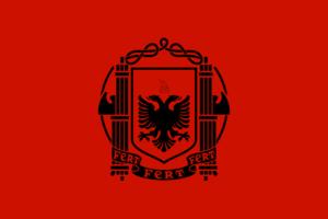 アルバニアイタリア占領下時代の旗