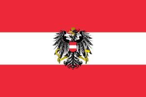 オーストリア共和国の国旗