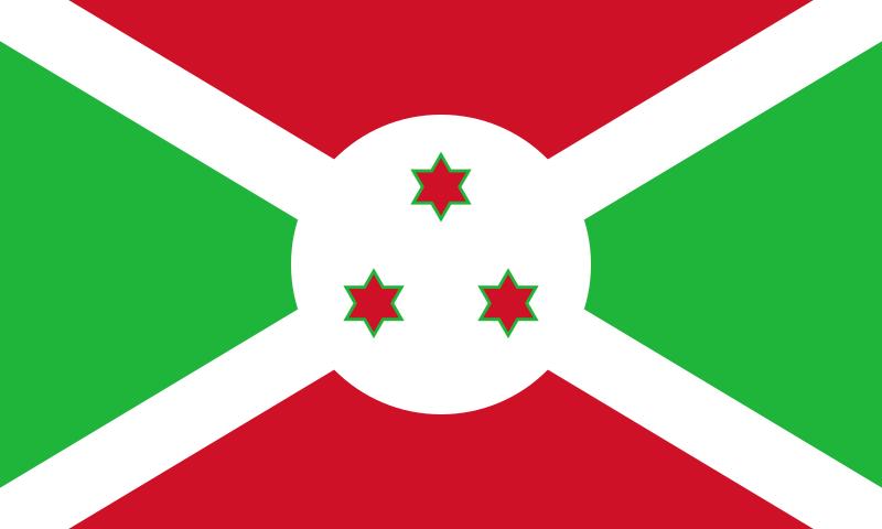 ブルンジ共和国の国旗