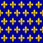 カペー朝フランス王国の国旗