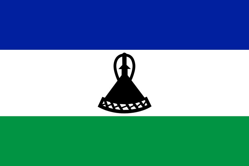 レソトの国旗