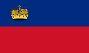 リヒテンシュタインの国旗