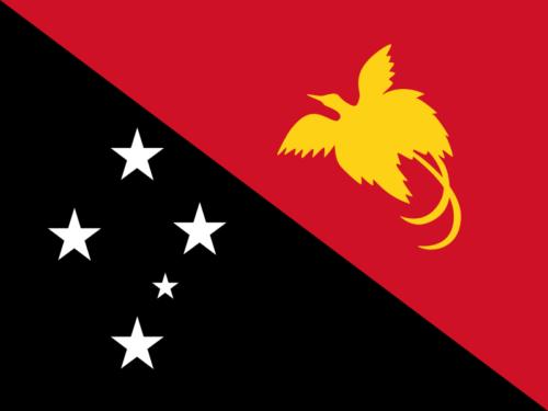 パプアニューギニアの国旗