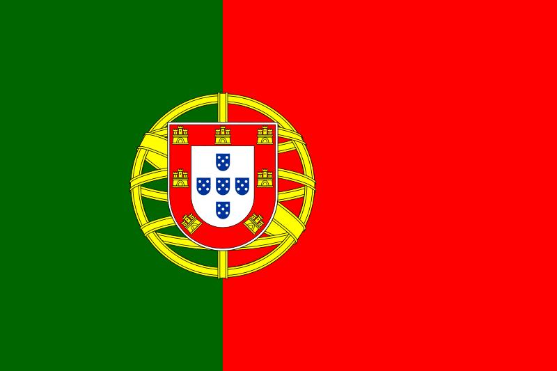 ポルトガルの国旗
