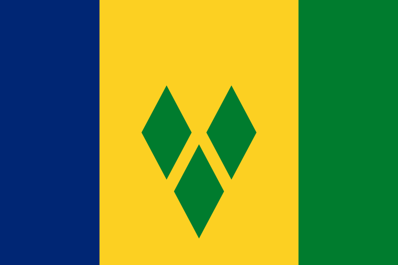セントビンセントの国旗