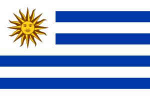 ウルグアイ東方共和国の国旗