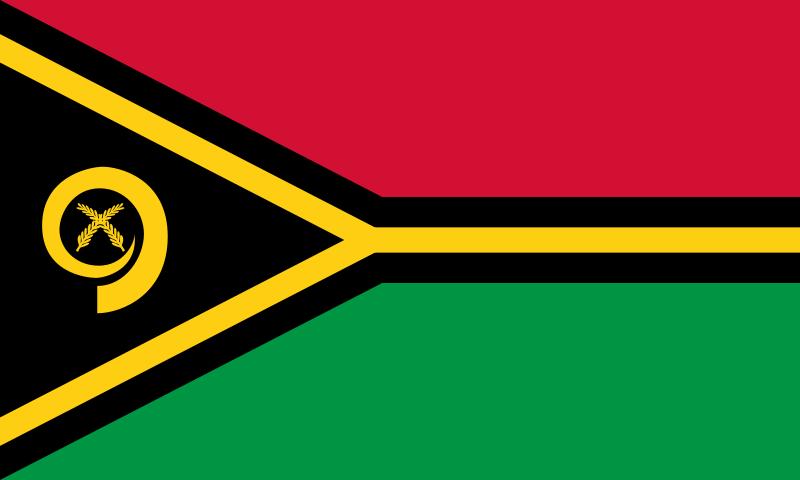 バヌアツの国旗