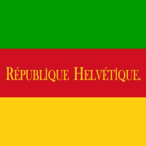 ヘルベティア共和国の国旗