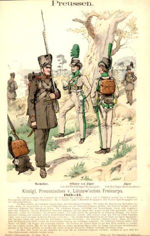 リュッツォウ義勇軍の軍服