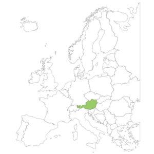 オーストリアの場所