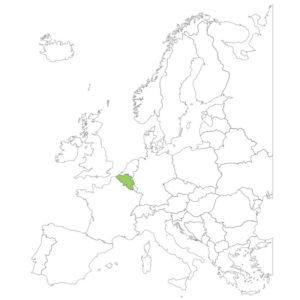 ベルギーの場所