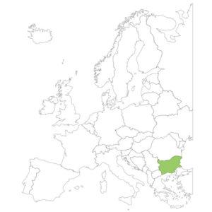 ブルガリアの場所
