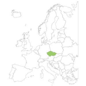 チェコの場所