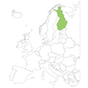 フィンランドの場所