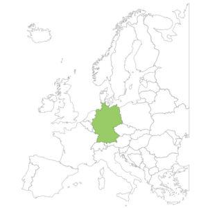 ドイツの場所