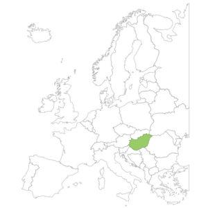 ハンガリーの場所