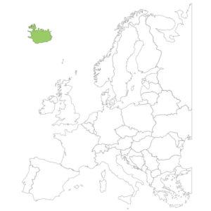 アイスランドの場所