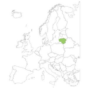 リトアニアの場所