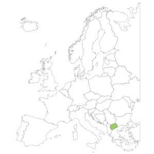 マケドニアの場所