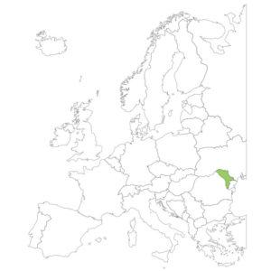 モルドバの場所