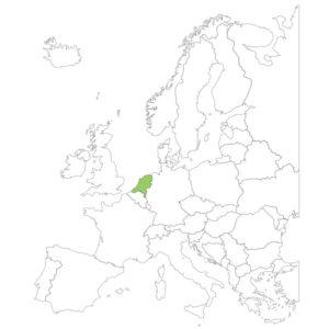 オランダの場所