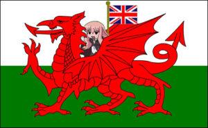 ウェールズの上にルイズ