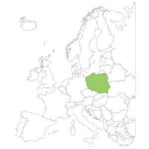 ポーランドの場所
