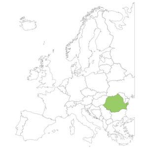ルーマニアの場所