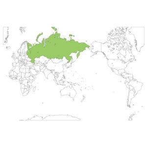 ロシアの場所