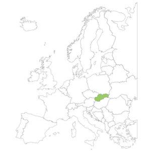 スロバキアの場所