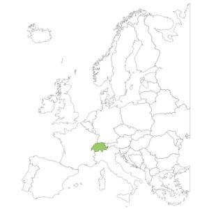 スイスの場所