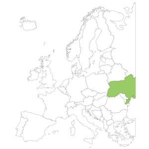 ウクライナの場所