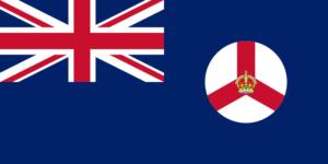 イギリス領シンガポール域旗