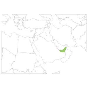 アラブの場所