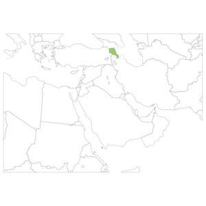 アルメニアの場所