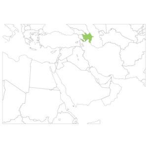 アゼルバイジャンの場所