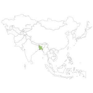 バングラデシュの場所