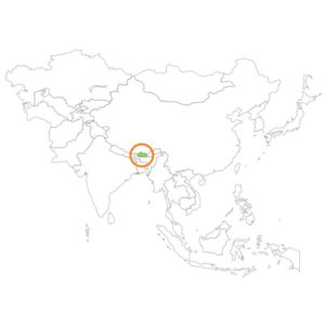ブータンの場所
