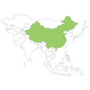 中国の場所