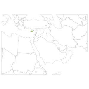 キプロスの場所