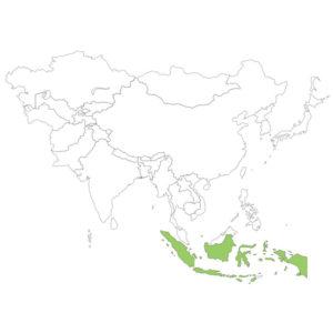 インドネシアの場所