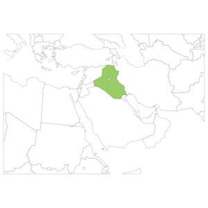 イラクの場所