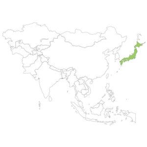 日本の場所