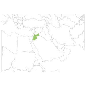ヨルダンの場所
