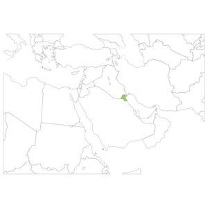 クウェートの場所