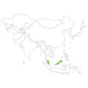 マレーシアの場所