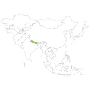 ネパールの場所