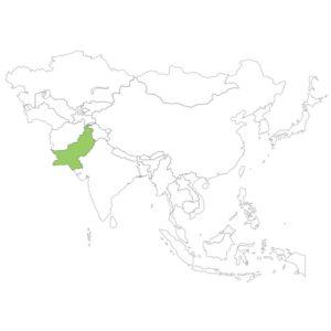 パキスタンの場所