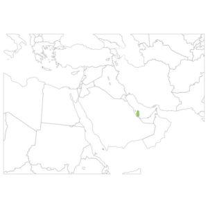 カタールの場所